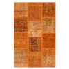 Alfombra Patchwork Color Naranja