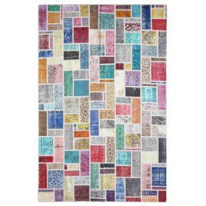 Alfombra Patchwork Multicolor