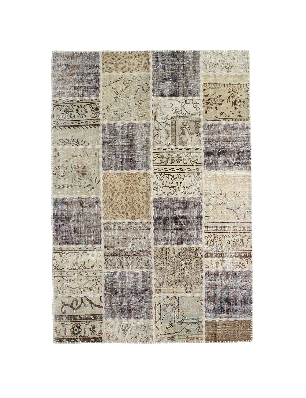 Alfombra patchwork 240 x 160 cm kilim age for Alfombra 180 x 240