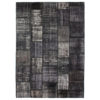 Alfombras Patchwork color negro