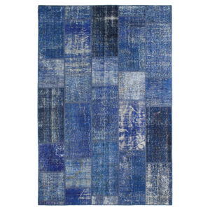 Alfombra Patchwork Azul