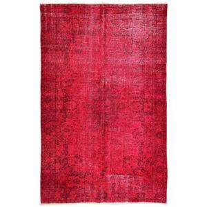 Alfombra Vintage roja