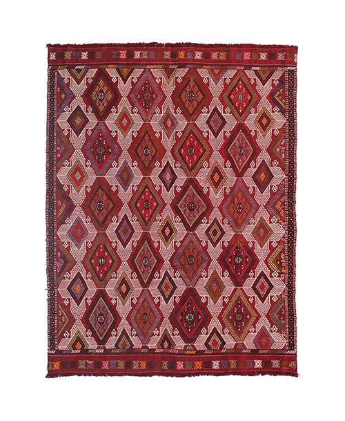 Kilim turca tipo bordado