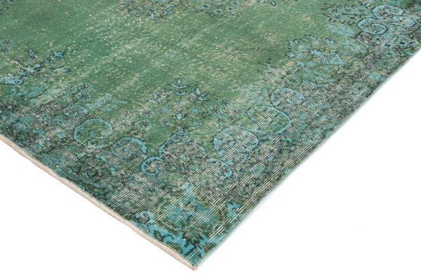 Alfombra Vintage color verde